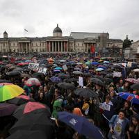 Brexit után Londonban: Tüntetések és xenofóbia
