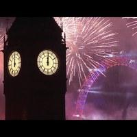 Így zajlott az újévi tűzijáték