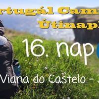 Portugál Camino útinapló - 16. nap