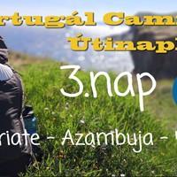 Portugál Camino útinapló - 3.nap