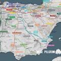 Zarándokutak Santiago de Compostela felé