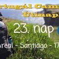 Portugál Camino útinapló - 23. nap