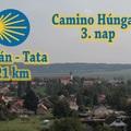 Camino Húngaro útinapló - Harmadik nap