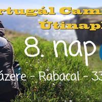 Portugál Camino útinapló - 8. nap