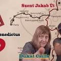 Camino arcok és könyvek 1. rész: Dukát Csilla és a magyar útvonalak (Videó)