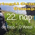 Portugál Camino útinapló - 22. nap