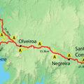 Camino de Fisterra - 1. nap - Santiago - Negreira