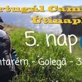 Portugál Camino útinapló - 5. nap