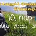 Portugál Camino útinapló - 10. nap