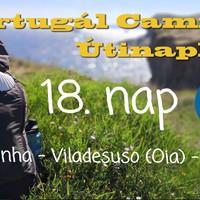 Portugál Camino útinapló - 18. nap