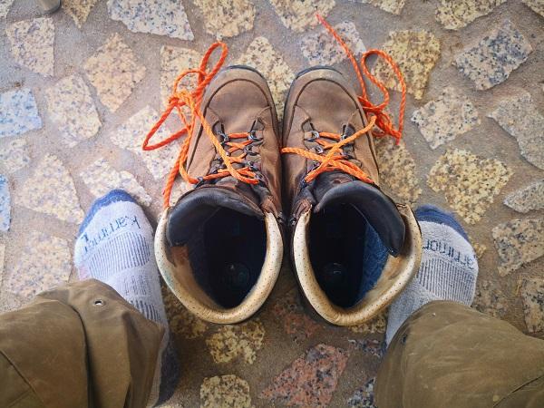 Hanwag Canyon bakancs tartósteszt 1.500 kilométer után