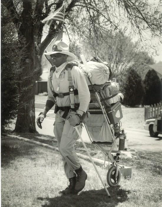 A Mule nevű egykerekű, amit egy veterán katona fejlesztett ki