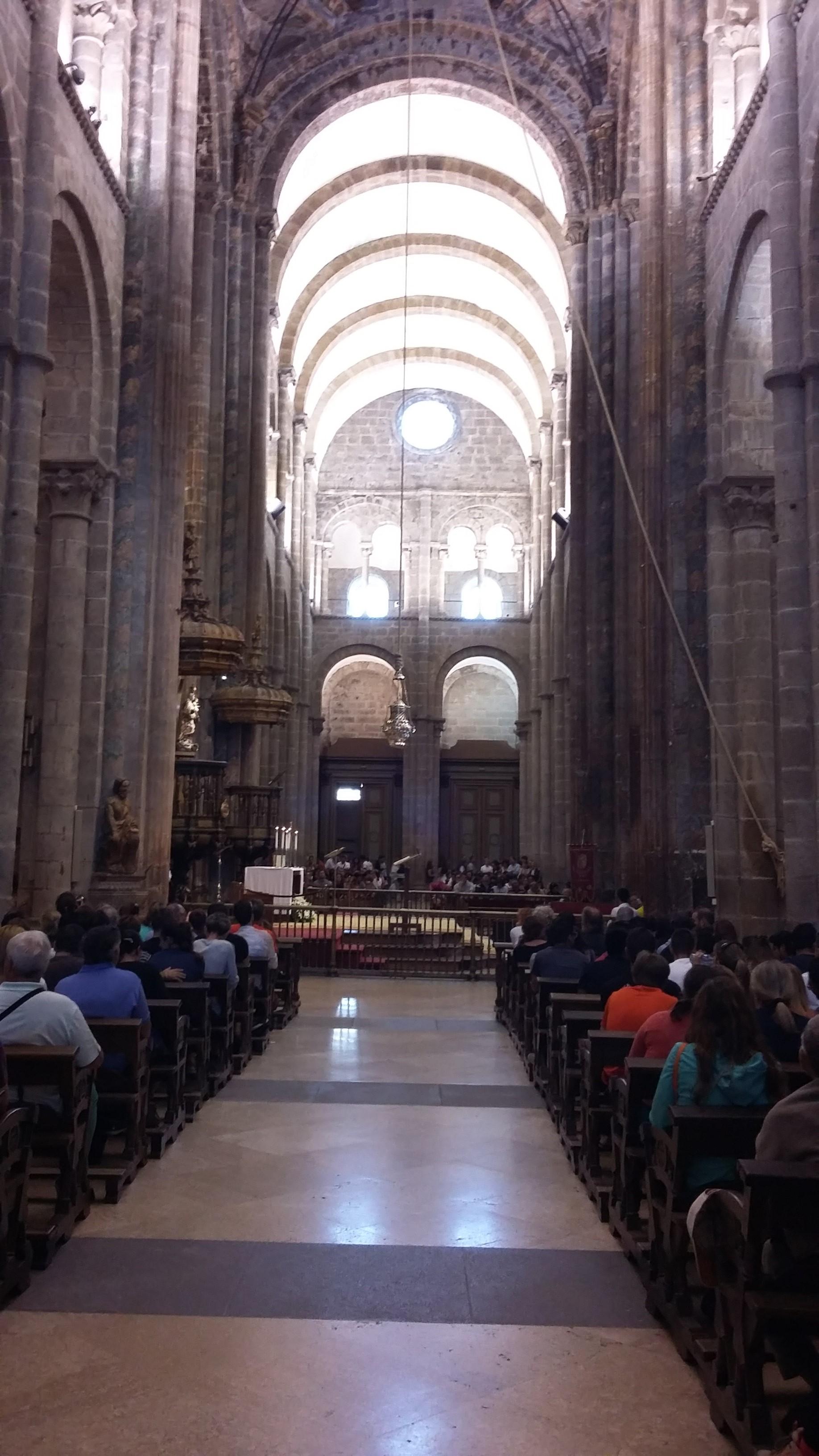 Santiago de Compostela. A szent Jakab katedrális