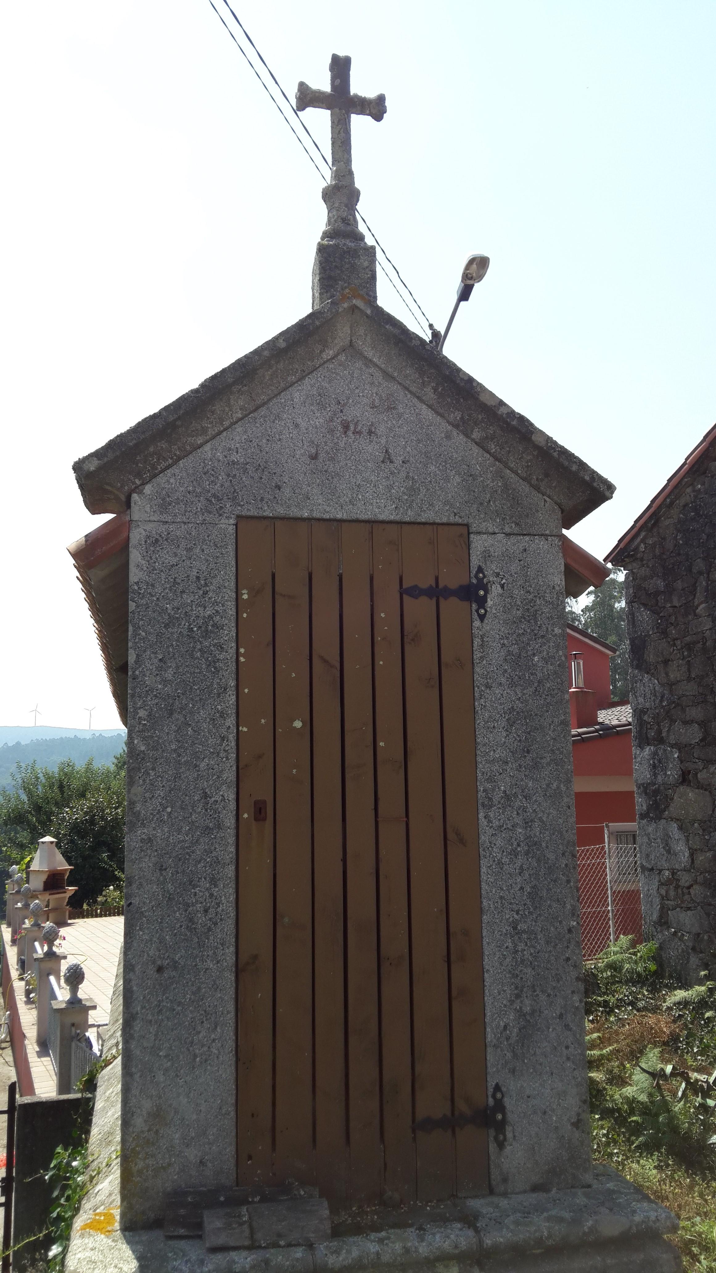Galiciai típusú hórreo.
