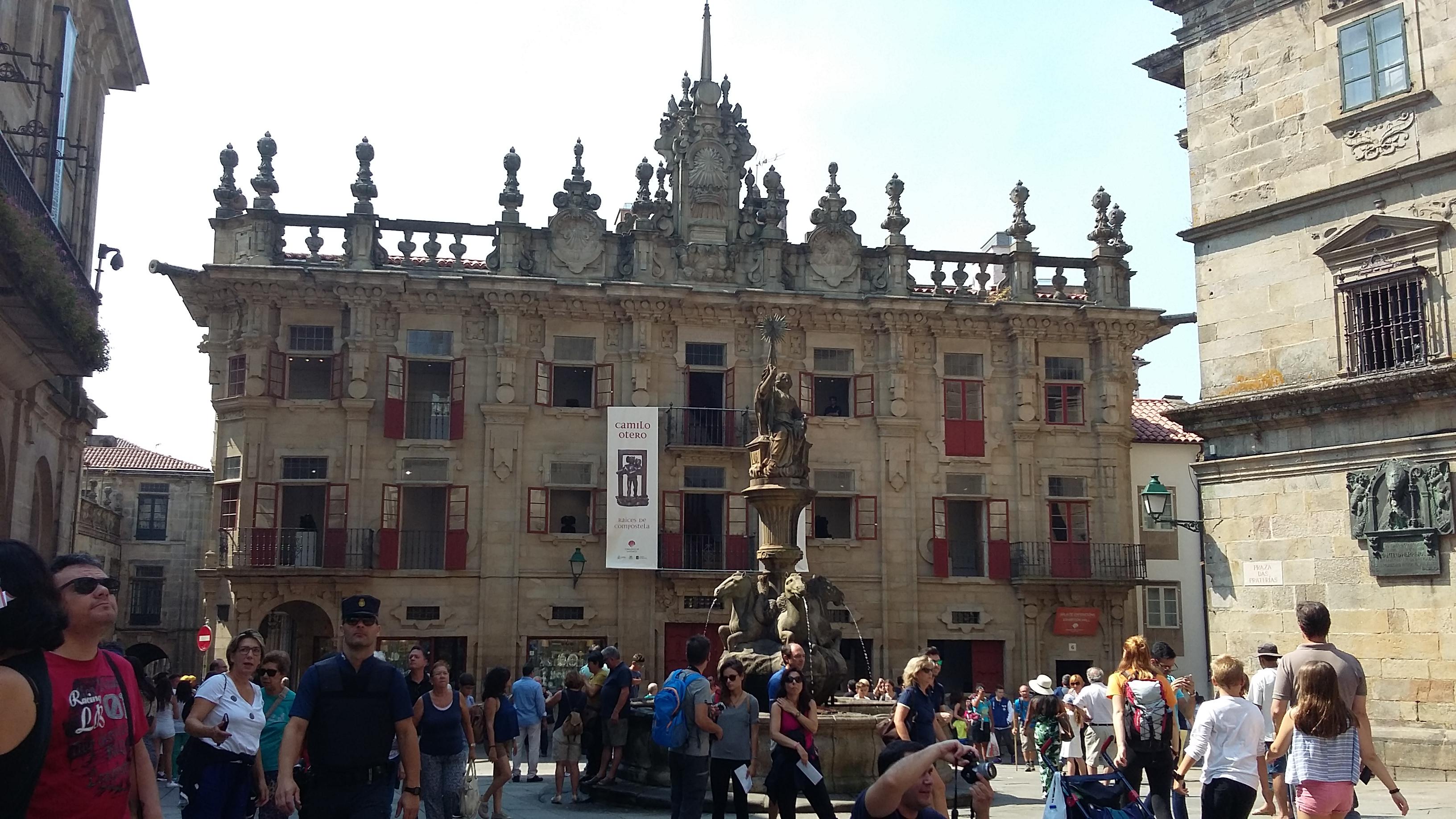 Santiago de Compostela Plaza de las Platerías