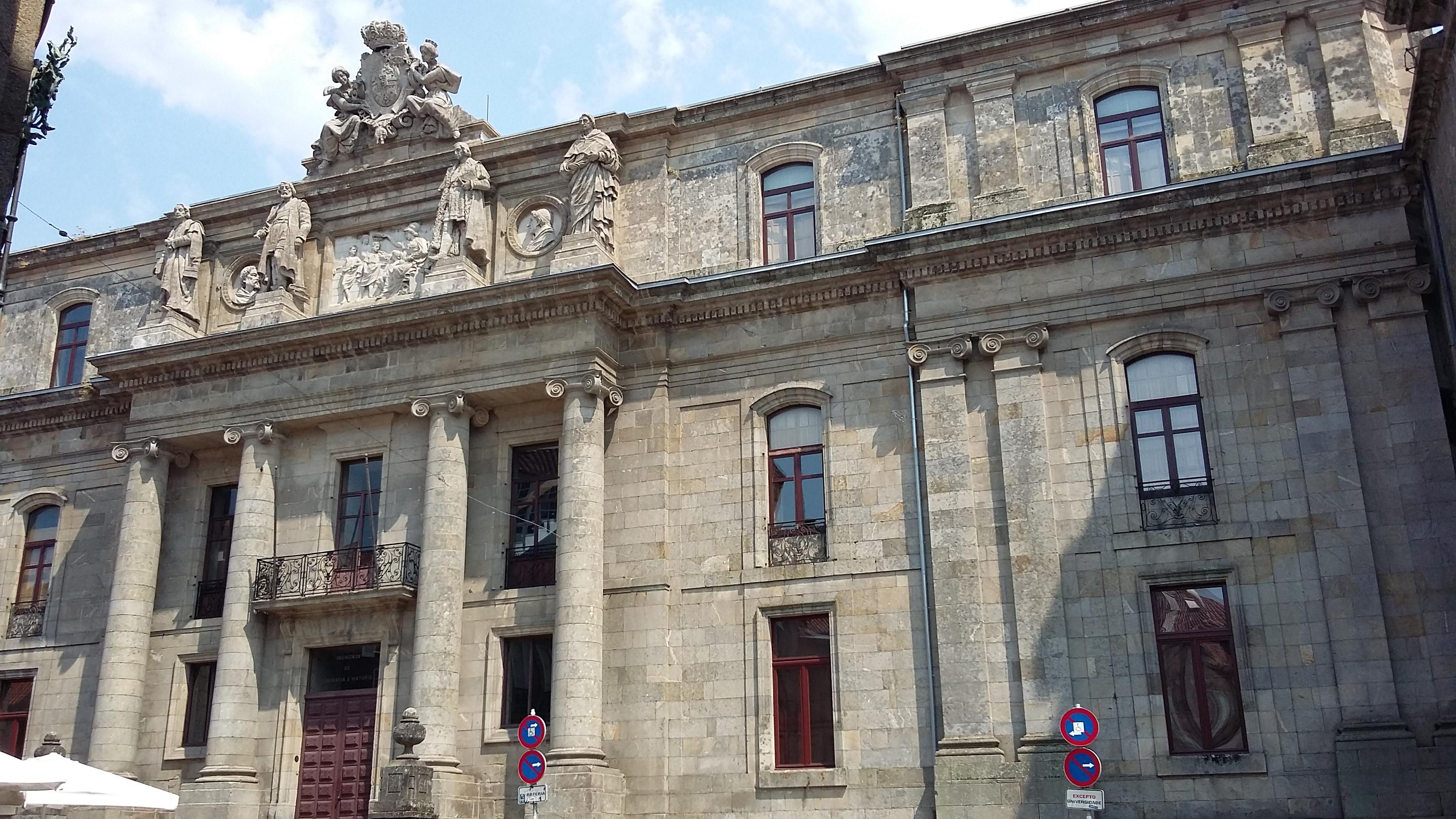 Santiago de Compostela Egyetem Földrajzi és Történeti Kara