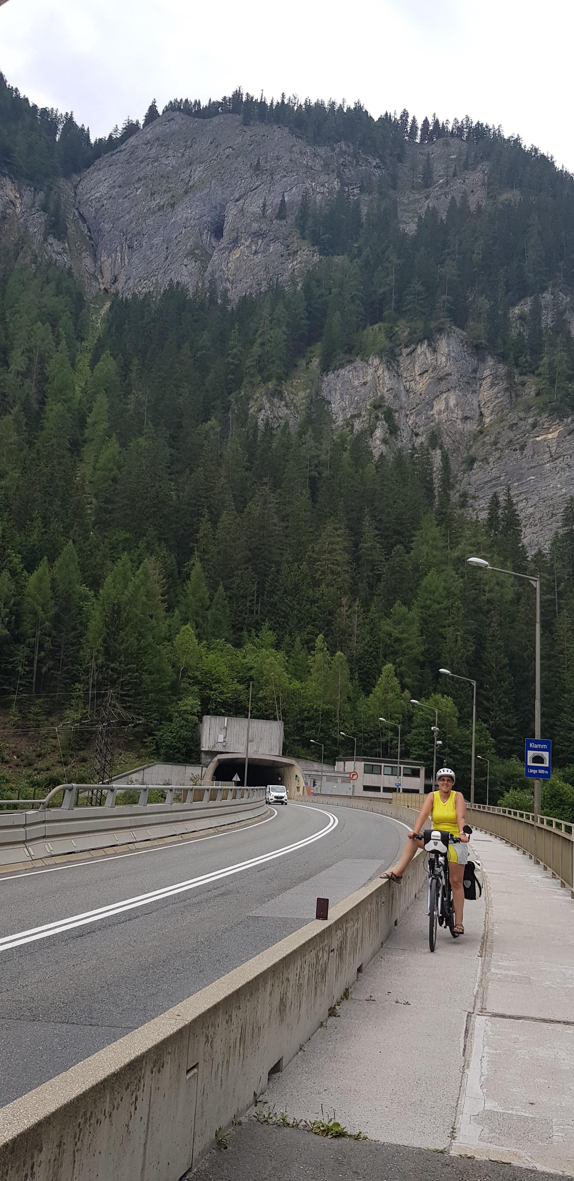 Útban Bad Gastein felé