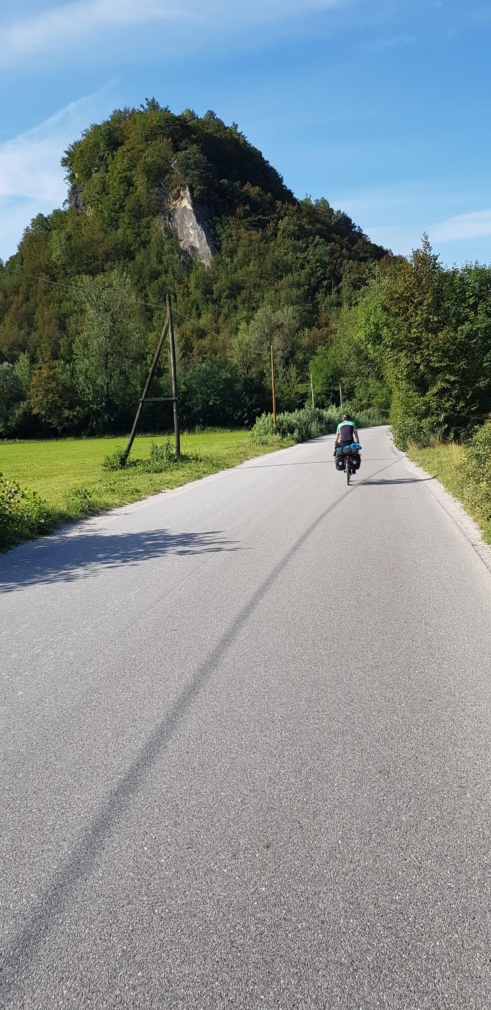 Útban Udine felé