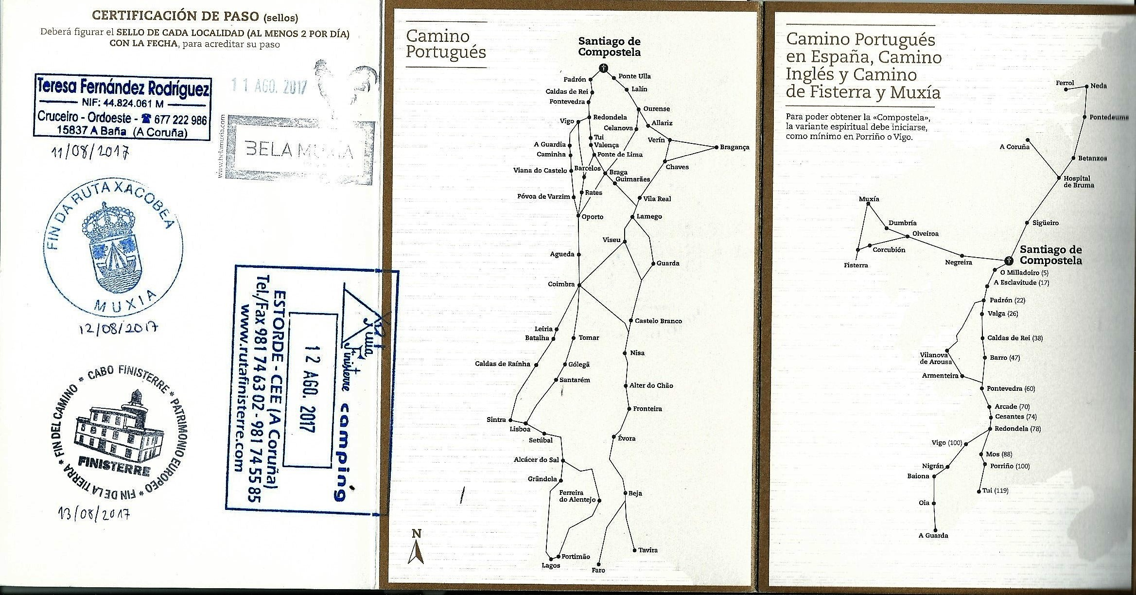 Credencial (zarándokútlevél)