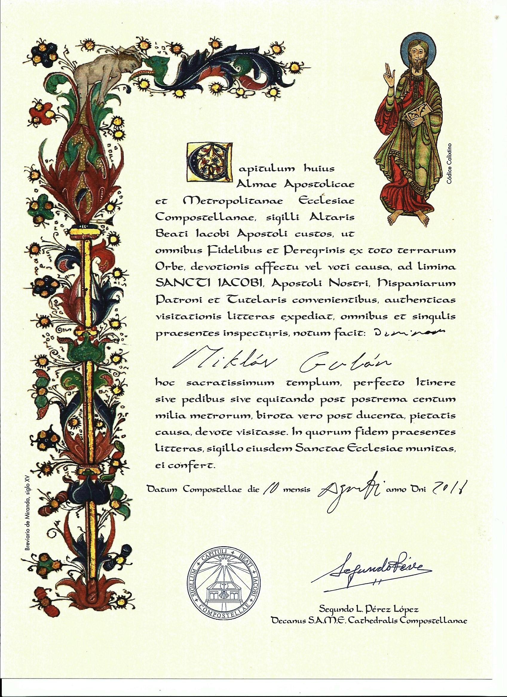 Compostela Miklós