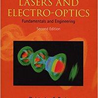Lasers And Electro-optics: Fundamentals And Engineering Ebook Rar