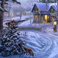 Karácsonyi tyúkos díszek házilag