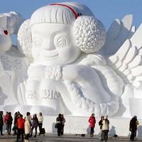 Nyit a világ legnagyobb hó- és jégcsodája