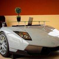 Luxusautók otthon és az irodában