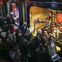 Csodás New York-i karácsonyi kirakatok