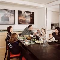 Így eszik együtt a család