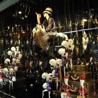 Louis Vuitton-kirakat a Lafayette-ben
