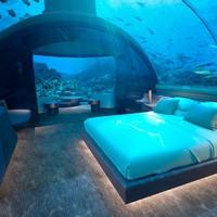 A világ első víz alatti lakosztálya