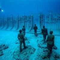 Európa első vízalatti múzeuma