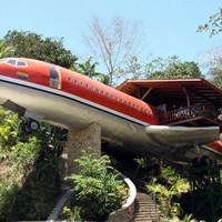 Kiszuperált repülőből luxuslakosztály a dzsungelben