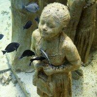 Szoborpark a tenger mélyén