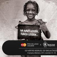 Priceless Causes jótékonysági kampány a MasterCardtól: kártyás vásárlásaival most Ön is segít!