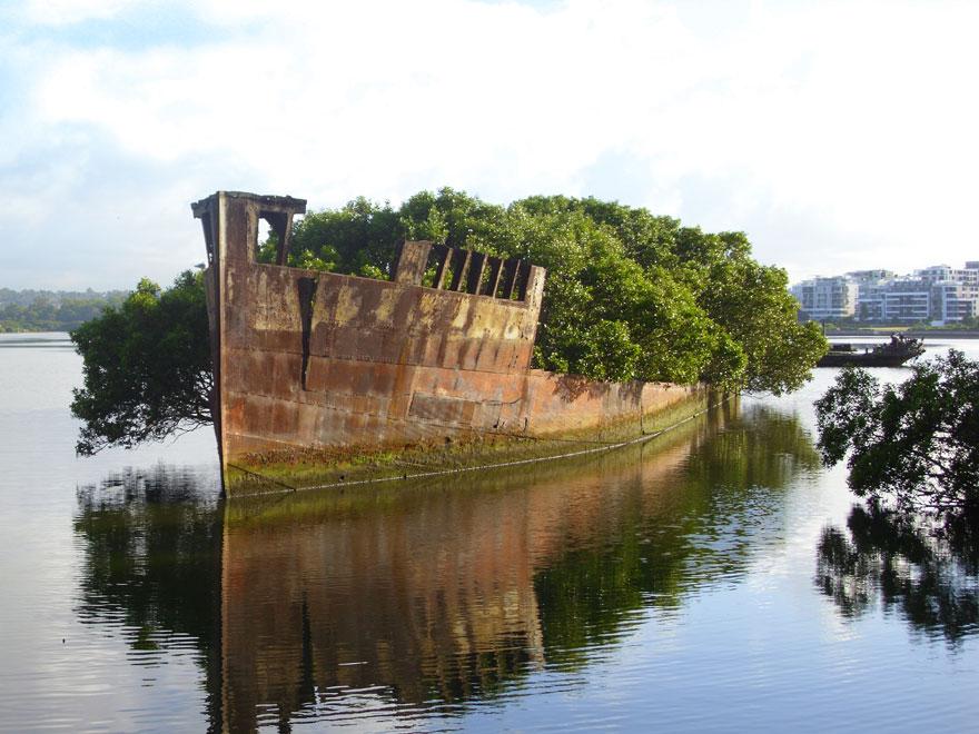 102 éves hajó, Sydney, Ausztrália
