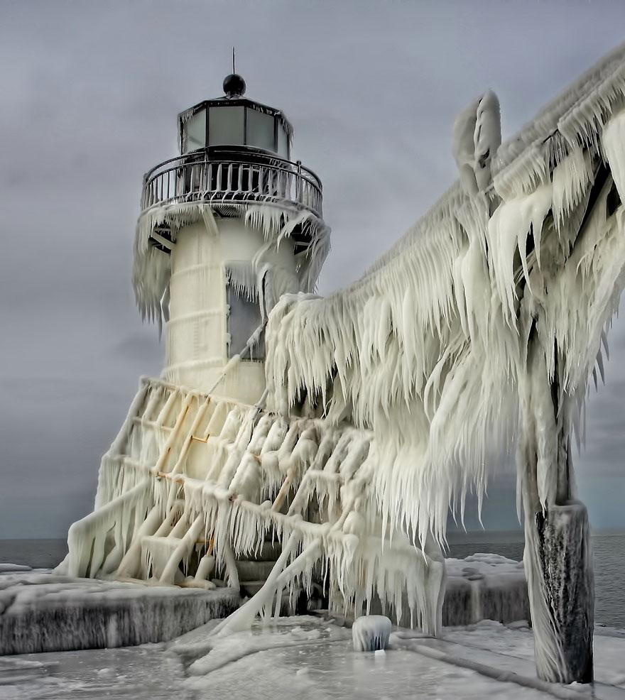 St. Joseph North Pier Lighthouse, Michigan, USA