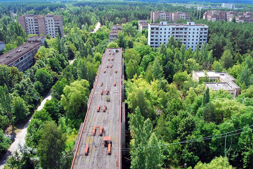 Az ukrajnai Pripjaty a csernobili katasztrófa után néptelenedett el