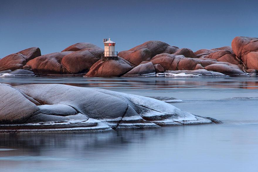 Stångholmen, Lysekil, Svédország