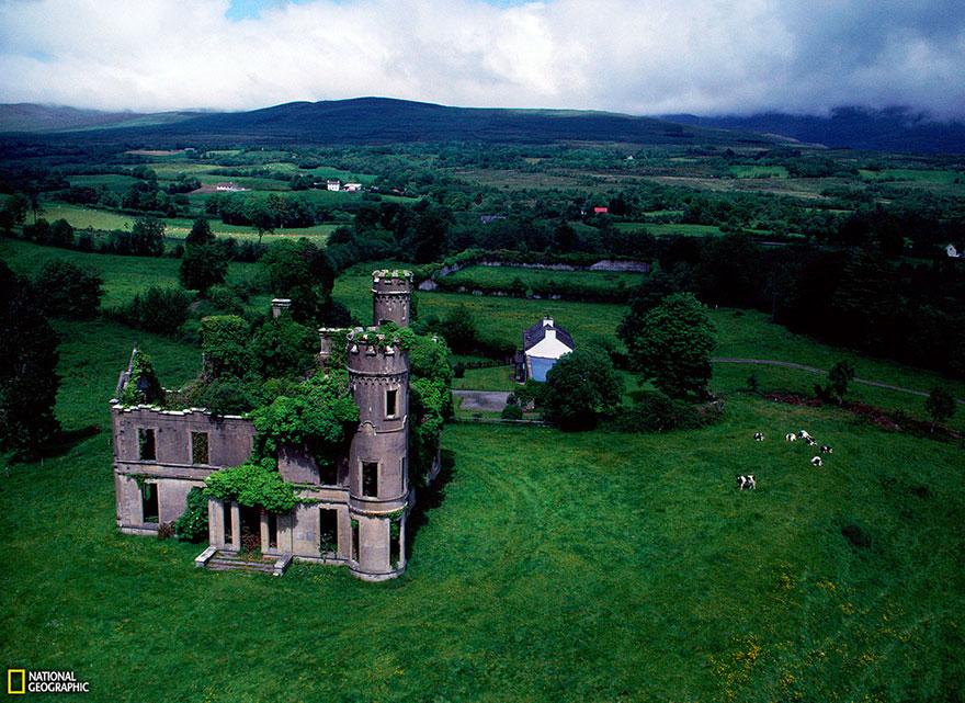 Udvarház az írországi Kilgarvanban