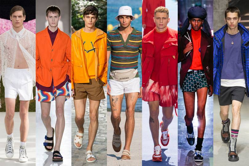 9bdfeff784 Eljön az ultrarövid rövidnadrágok kora, a férfiak is megmutathatják a  combjukat. Kár kihagyni a lábnapot a konditeremben, ugyanis jövőre nagyobb  figyelem ...