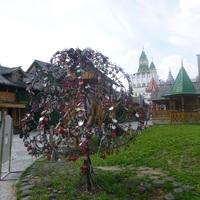 Izmailovó - Kreml, a szerelmesek fája