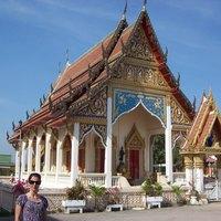 Thaiföld, templomok - mennyire nincs ember! Még oroszok sem.