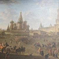 A Vörös tér 1801-ben