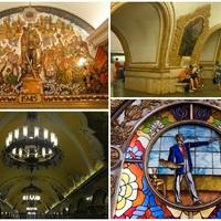 Földalatti paloták - a moszkvai metró