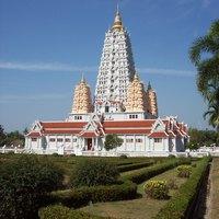 Thaiföld, templomok - Wat Yansangwararam főtemlpoma