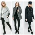 A szövet, a fémes, a hímzett és a bunda- év végi kabát mustra