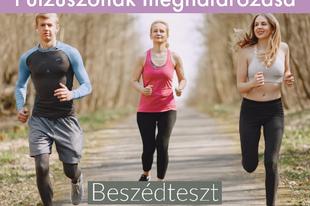 Pulzusmérés futóknak az egészség védelmében 2.