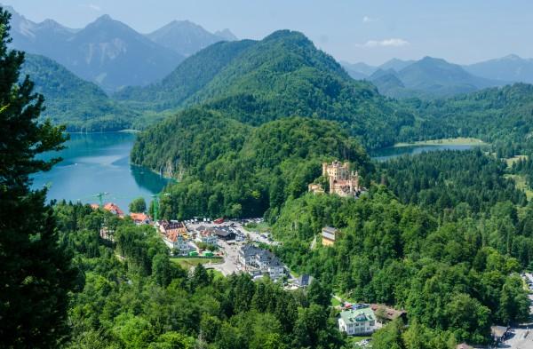 Alpsee és Hohenschwangau - Fotó: dr. Szalai Krisztián